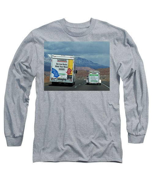 Uhaul On The Move Long Sleeve T-Shirt