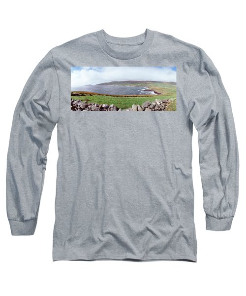 Uk, Ireland, Kerry County, Rocks Long Sleeve T-Shirt