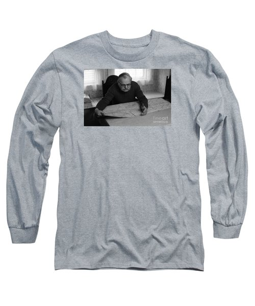 Uncle Charles Long Sleeve T-Shirt by Steven Macanka