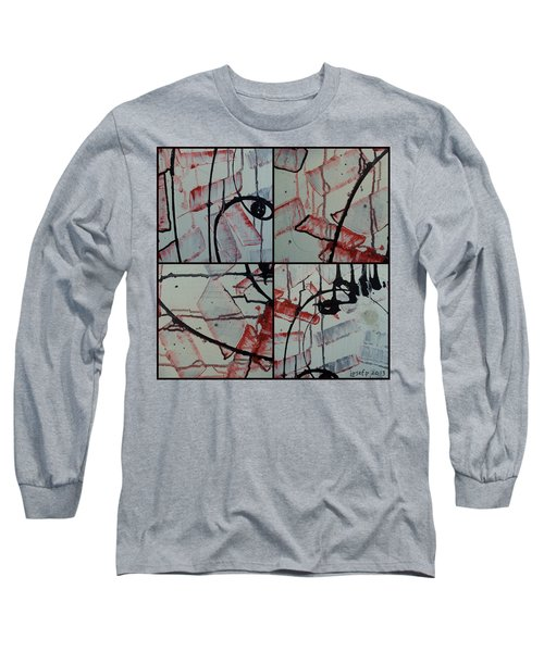 Long Sleeve T-Shirt featuring the photograph Unfaithful Desire Part One by Sir Josef - Social Critic - ART