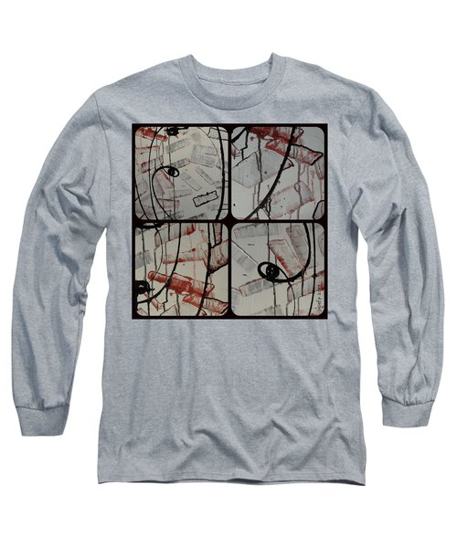 Long Sleeve T-Shirt featuring the photograph Unfaithful Desire Part Two by Sir Josef - Social Critic - ART
