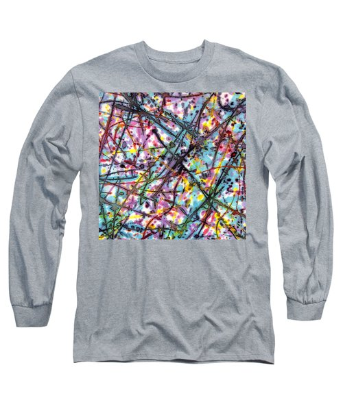 The Mural Goes On And On Long Sleeve T-Shirt