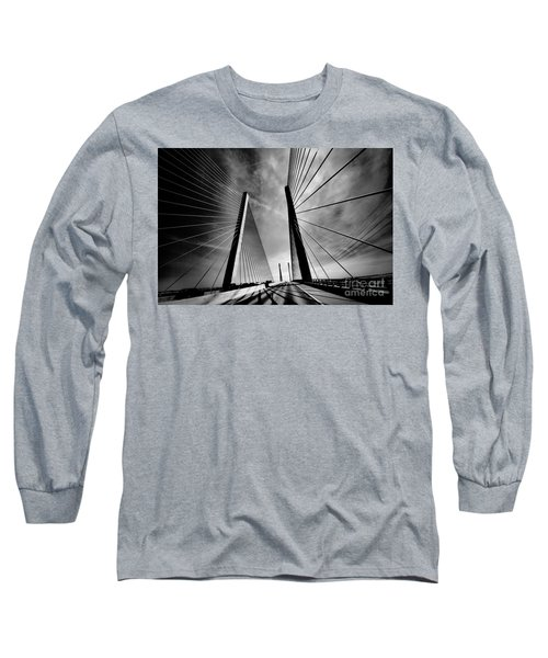 Long Sleeve T-Shirt featuring the photograph Up N Over by Robert McCubbin