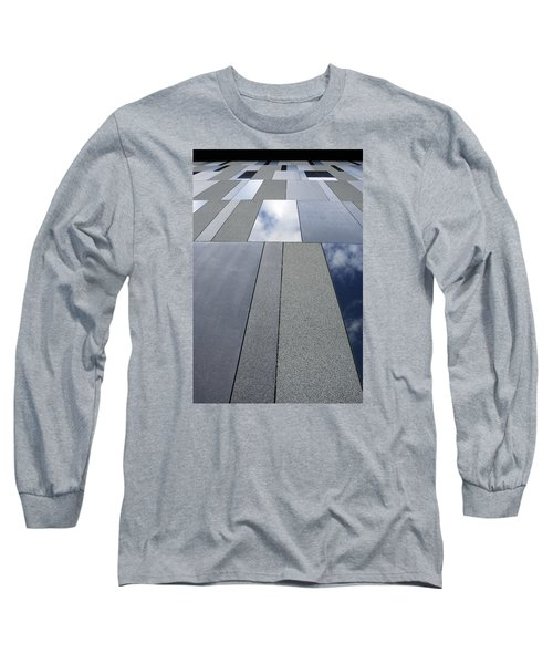 Up The Wall Long Sleeve T-Shirt by Wendy Wilton