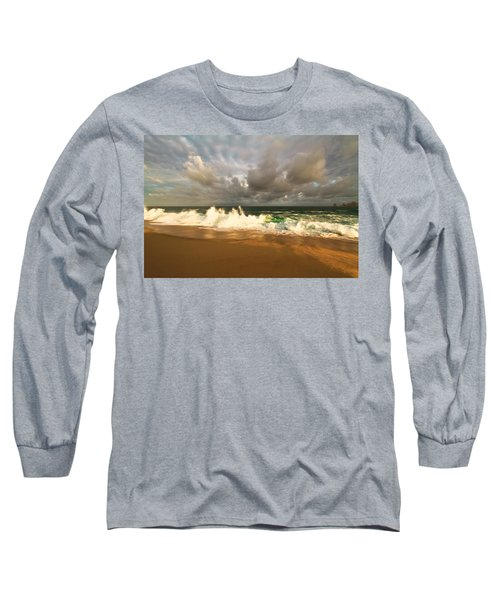 Long Sleeve T-Shirt featuring the photograph Upcoming Tropical Storm by Eti Reid