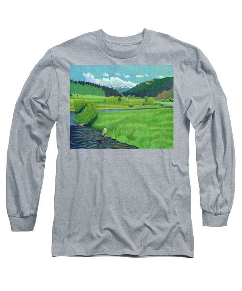 Upper Bear Creek Colorado Long Sleeve T-Shirt
