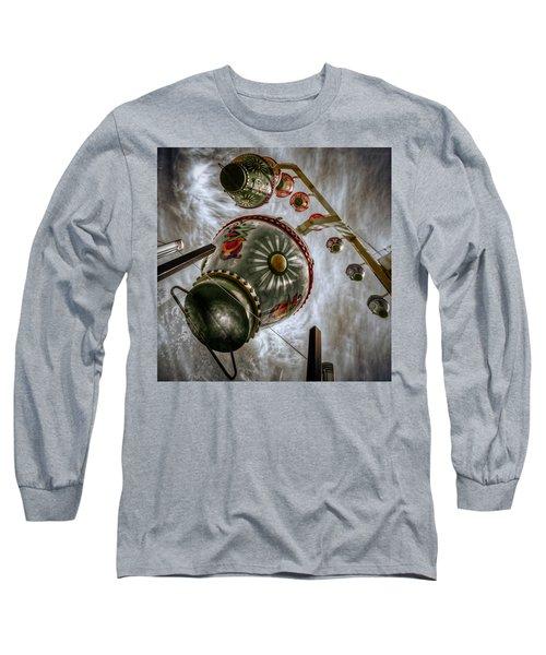 Upwardly Mobile Long Sleeve T-Shirt by Wayne Sherriff