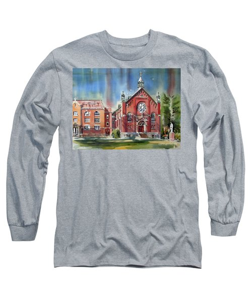 Ursuline Academy With Doves Long Sleeve T-Shirt by Kip DeVore
