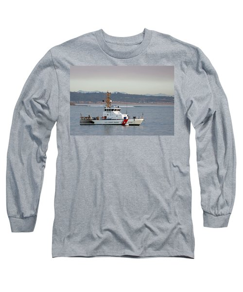 U.s. Coast Guard Cutter - Hawksbill Long Sleeve T-Shirt