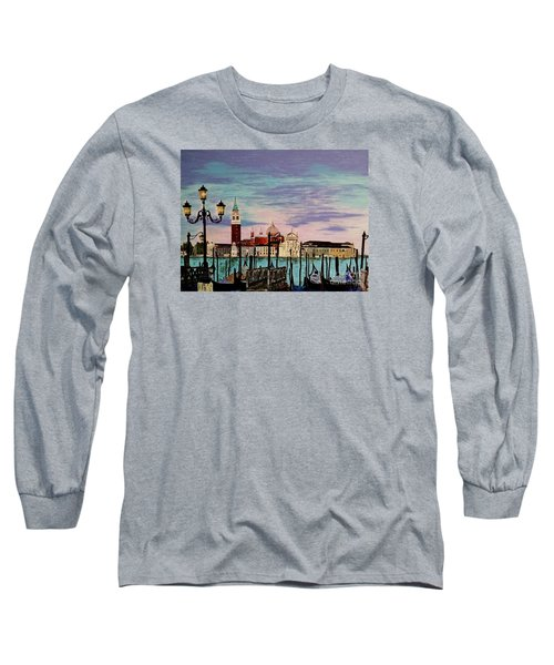Venice  Italy By Jasna Gopic Long Sleeve T-Shirt