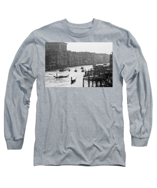 Long Sleeve T-Shirt featuring the photograph Venice Grand Canal by Silvia Bruno