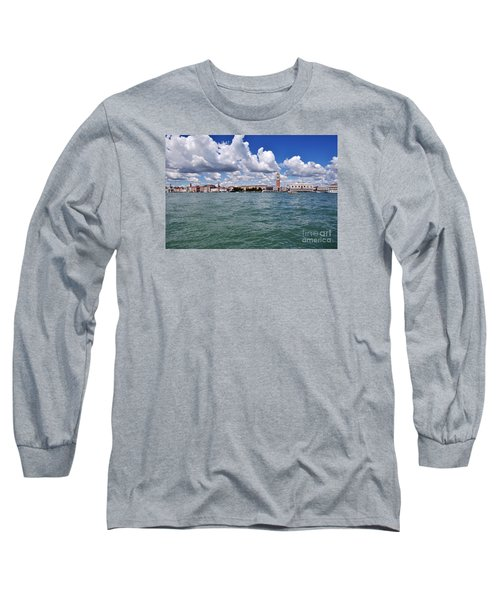 Long Sleeve T-Shirt featuring the photograph Venice by Simona Ghidini