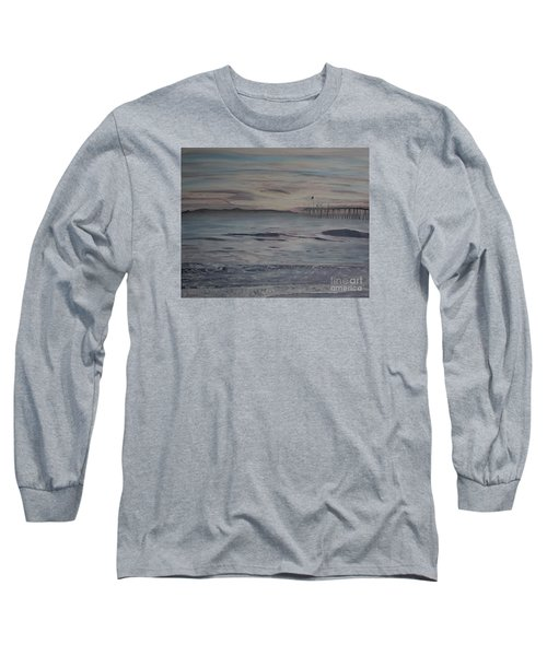 Ventura Pier High Surf Long Sleeve T-Shirt