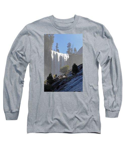 Vernal Falls Mist Trail Long Sleeve T-Shirt