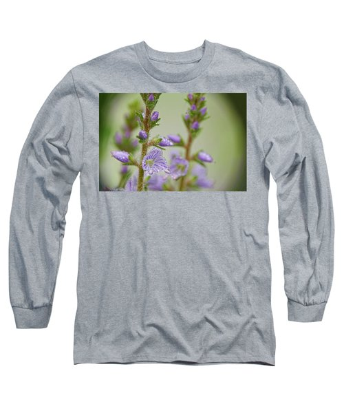 Long Sleeve T-Shirt featuring the photograph Veronica's Tears by Peggy Collins