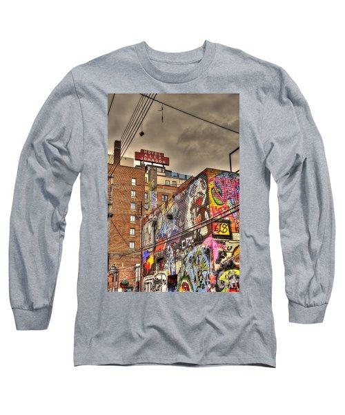 Vibrant Lodging Long Sleeve T-Shirt