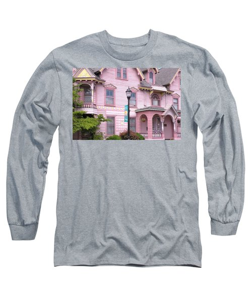 Victorian Pink House - Milford Delaware Long Sleeve T-Shirt
