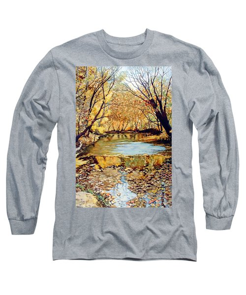 View From The Covered Bridge Long Sleeve T-Shirt