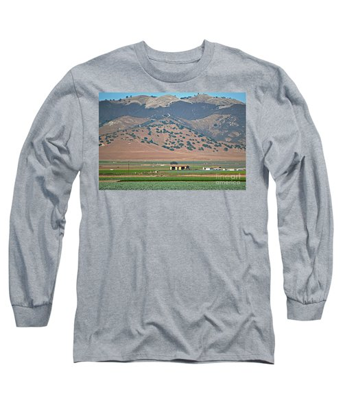 Long Sleeve T-Shirt featuring the photograph View From The Crops by Susan Wiedmann