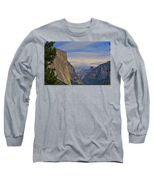 View From Wawona Tunnel Long Sleeve T-Shirt