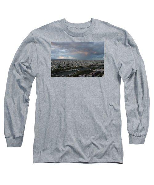 View Of Paris Long Sleeve T-Shirt