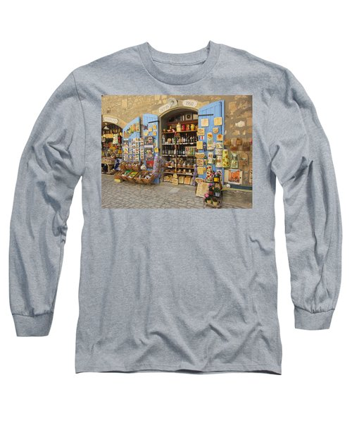 Village Shop Display Long Sleeve T-Shirt