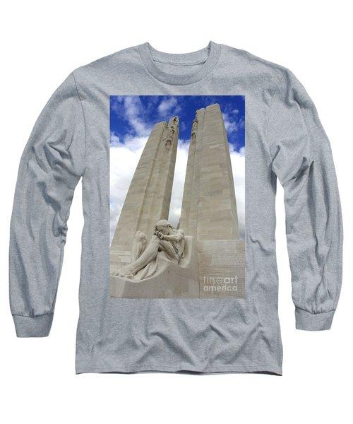 Vimy Ridge Memorial France Long Sleeve T-Shirt