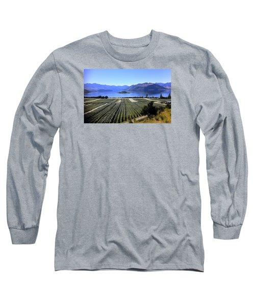 Vineyard View Of Ruby Island Long Sleeve T-Shirt