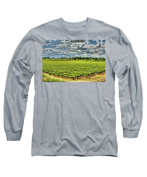Vineyards Almost Ripe Long Sleeve T-Shirt