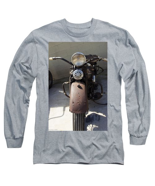 Vintage Harley Long Sleeve T-Shirt by Nick Kirby