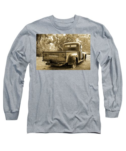 Long Sleeve T-Shirt featuring the photograph Vintage International by Steven Bateson