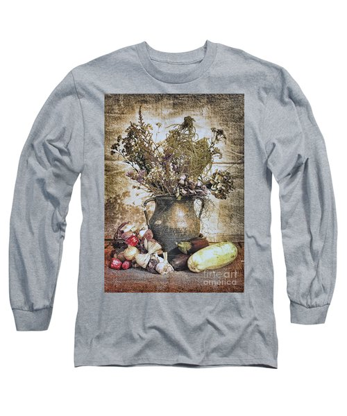 Vintage Still Life Long Sleeve T-Shirt