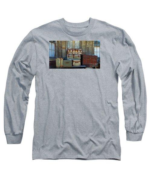 Vintage Trunks   Sold Long Sleeve T-Shirt