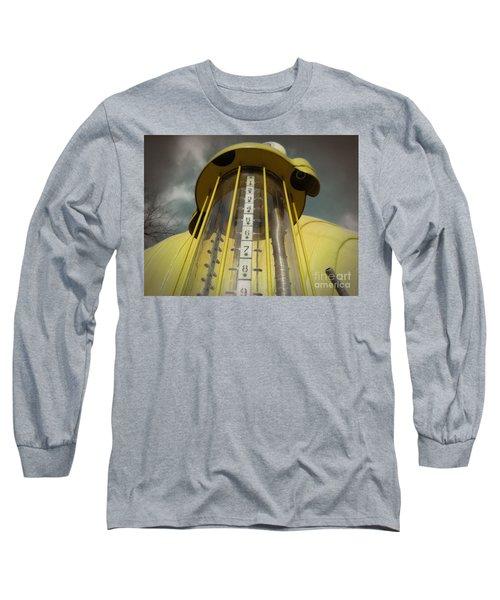 Visible Gas Pump Long Sleeve T-Shirt