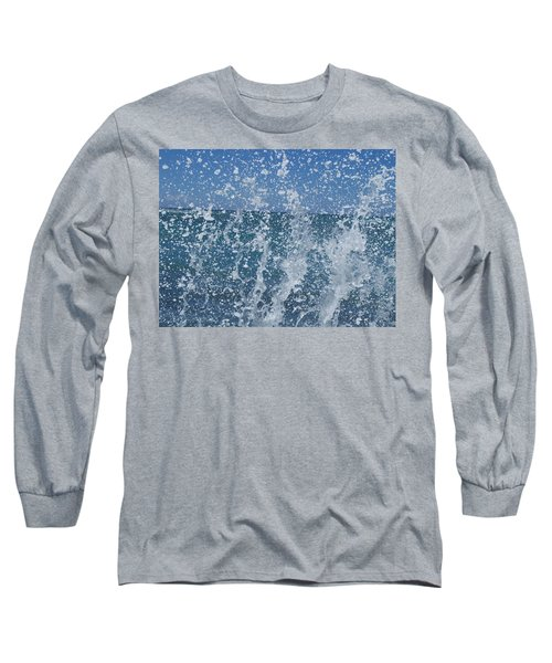 #waikiki Backsplash Long Sleeve T-Shirt