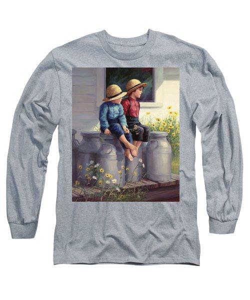 Waiting For Mama Long Sleeve T-Shirt