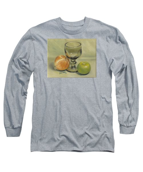 Waiting For Merlot Long Sleeve T-Shirt