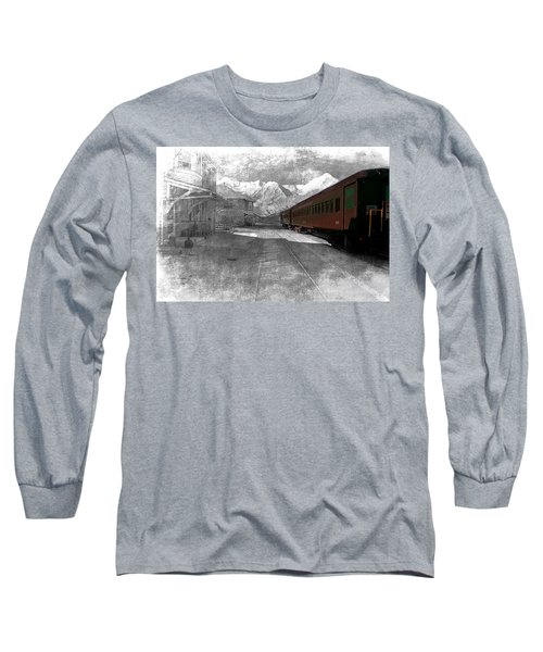 Waiting For The Take Off Long Sleeve T-Shirt