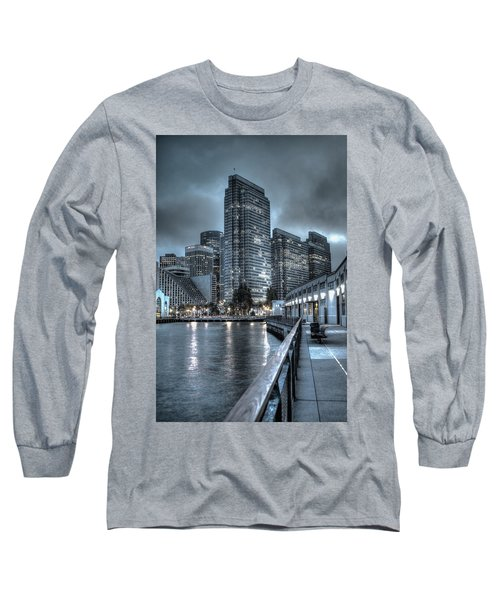 Walking The Embarcadero San Francisco Long Sleeve T-Shirt