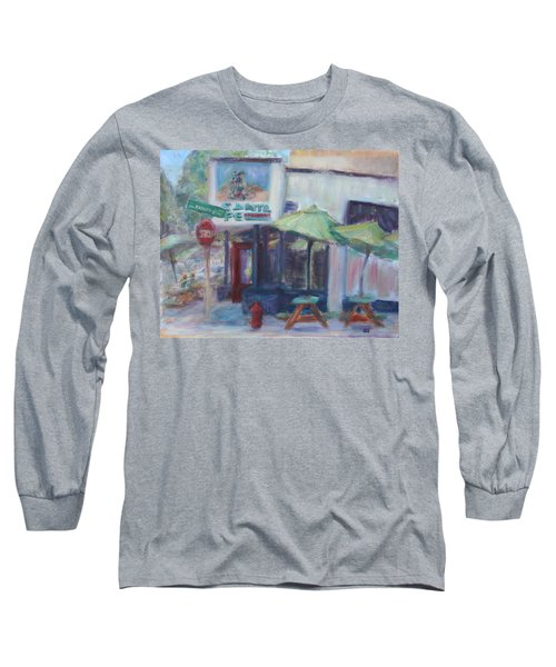 Warm Afternoon In The City  Long Sleeve T-Shirt