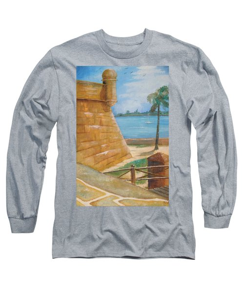 Warm Days In St. Augustine Long Sleeve T-Shirt