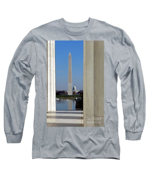 Washington Landmarks Long Sleeve T-Shirt