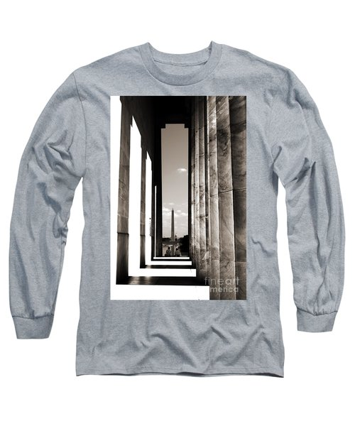 Washington Monument Long Sleeve T-Shirt