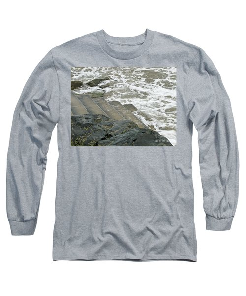 Long Sleeve T-Shirt featuring the photograph Watch Your Step by Brenda Brown