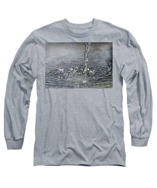 Water Beam Splashing Long Sleeve T-Shirt