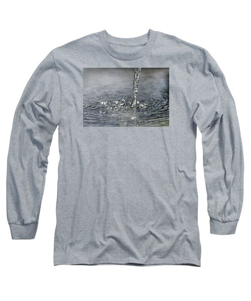 Water Beam Splashing Long Sleeve T-Shirt