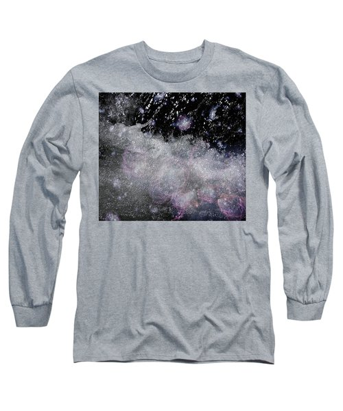 Water Flowing Into Space Long Sleeve T-Shirt