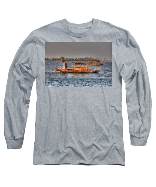 Water Taxi In China Long Sleeve T-Shirt