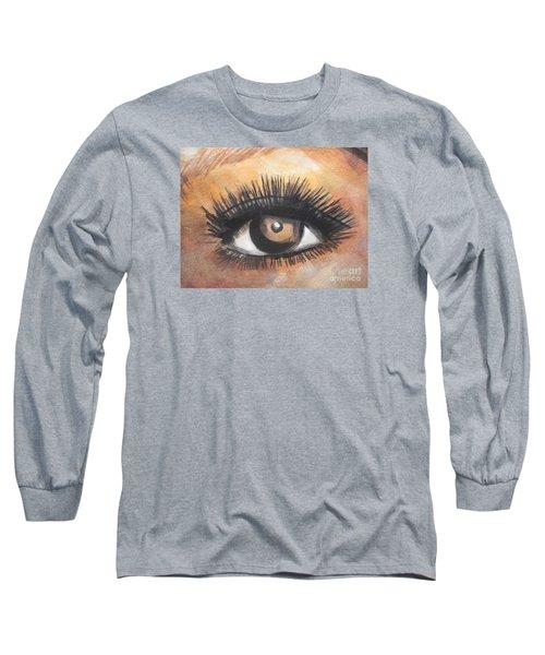 Watercolor Eye Long Sleeve T-Shirt