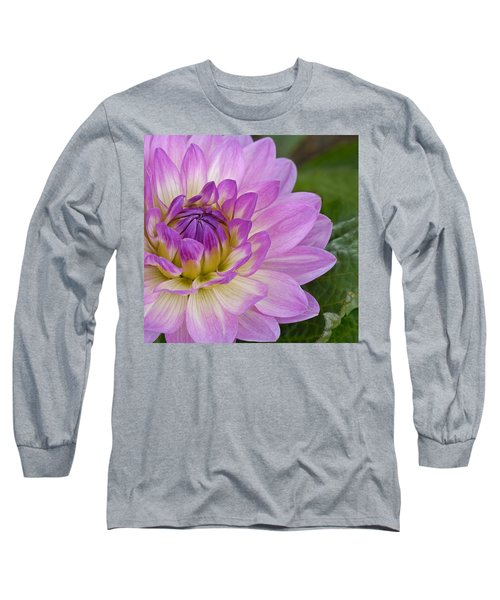 Waterlily Dahlia Long Sleeve T-Shirt